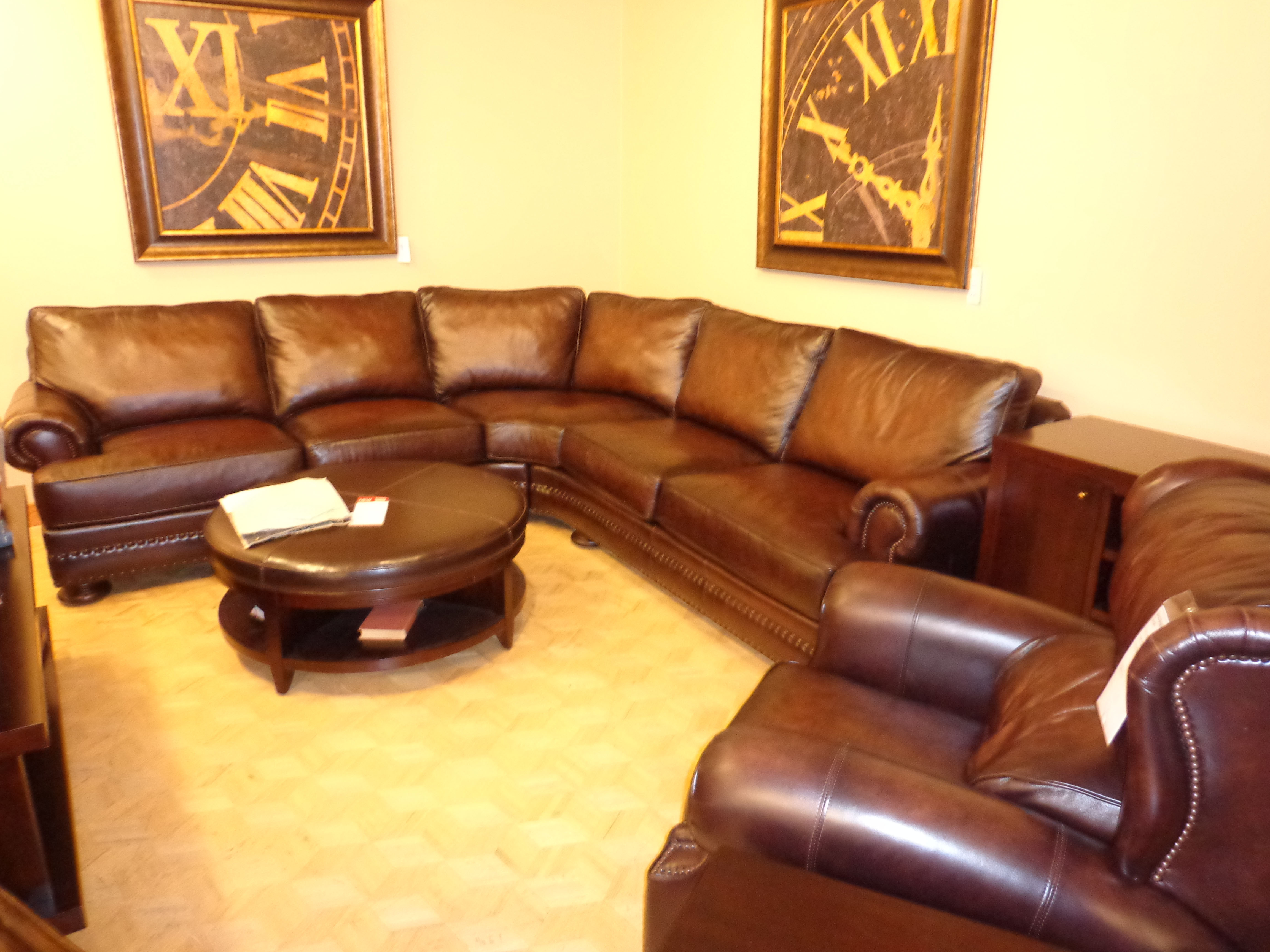 Dillards Leather Furniture Dillard 39 S Leather Sectional View Original